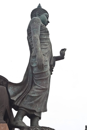 Buddha Stand In the garden. Buddhist province Nakhon Pathom Thailand. Stock Photo - 8659987