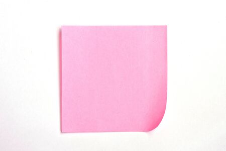 Paper notes On a white background Stock Photo - 9501521