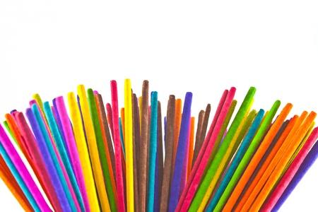 Incense Multicolored For the temple photo