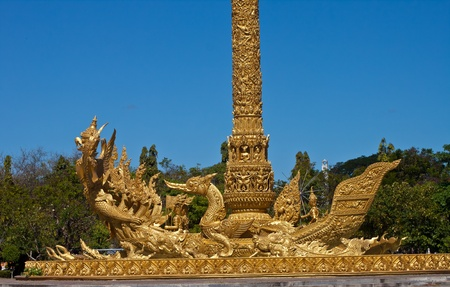 Thai art  in temple thailand  photo
