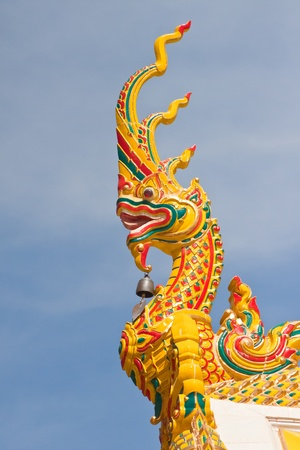 Thai art in temple ubon  thailand