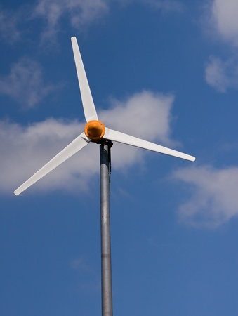 Wind turbine and the sky  photo