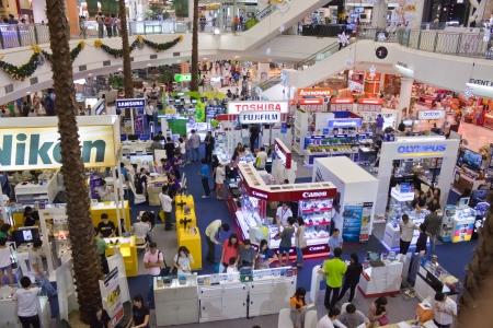 BANGKOK - DEC 23:Exhibition electronic records.on dec 23, 2012 in Bangkok, Thailand.