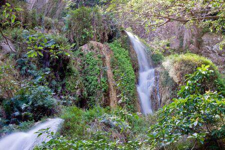 Deep forest Waterfall in Kanchanaburi, Thailand  Stock Photo - 17157700