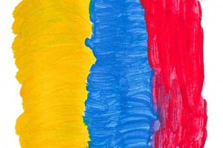 Abstract color  on paper Stock Photo - 18363914