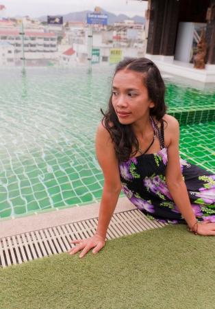 Thai Girl Portrait  photo