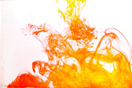 Abstract color on paper Reklamní fotografie