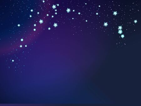 space and stars background Stock Photo