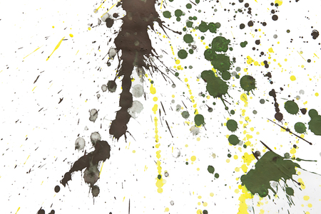 hand made pictured: abstract watercolor color painting watercolour on background Stock Photo
