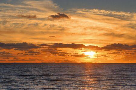 Red sunset Stock Photo - 3810929