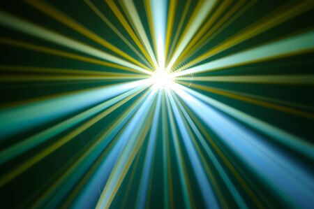 Disco ball with rays in haze Stock Photo - 4148553