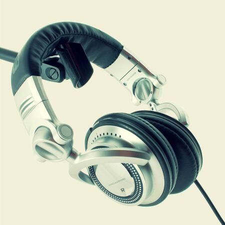 audifonos dj: DJ auriculares Foto de archivo