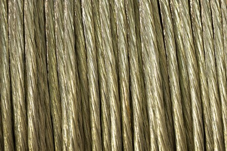 tonne: steel cable bunch
