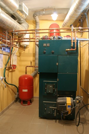 independent heating in a modern house