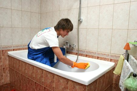 professional cleaning Stock Photo - 4586237