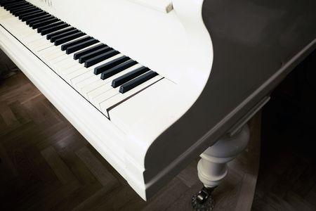 ivories: piano keys