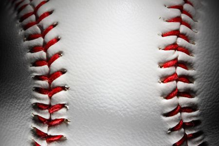closeup of an baseball Stock Photo - 4667079