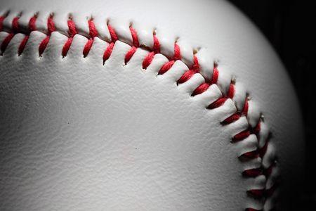 closeup of an baseball Stock Photo - 4667072