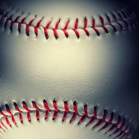closeup of an baseball Stock Photo - 4667074