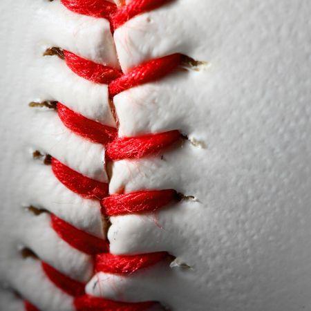 closeup of an baseball Stock Photo - 4667065