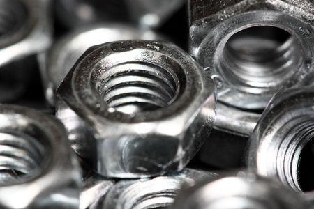 screw nuts closeup photo