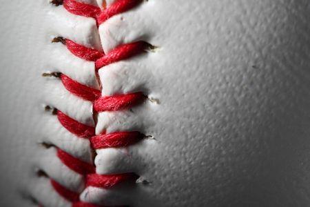 closeup of an baseball Stock Photo - 4879166