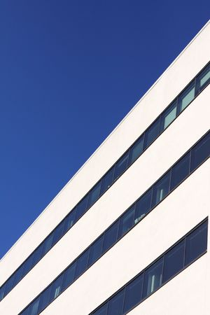 abstract detail of an modern building photo