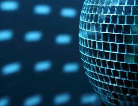 dancefloor: shiny dascoball Stock Photo