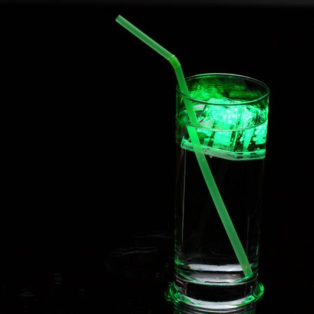 drink with illuminated ice Stock Photo - 4903752