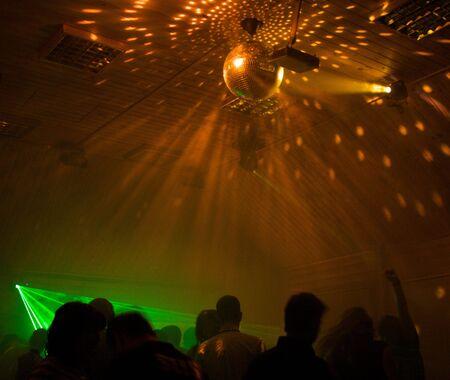 night club: en el club nocturno