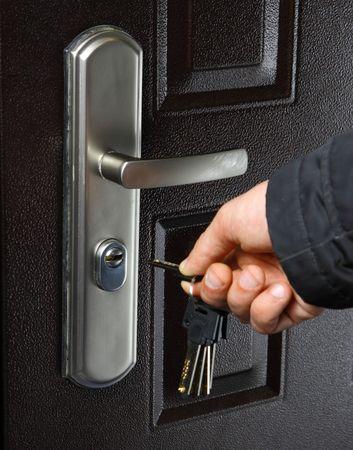 keys and door Stock Photo - 5006264