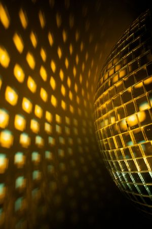 miror: Disco ball Stock Photo
