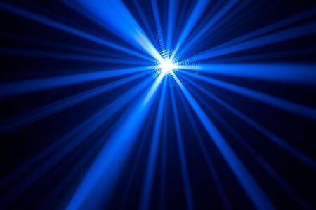 blue rays in haze photo