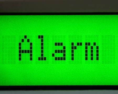 alarm digital message photo