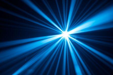 blue disco lights background photo