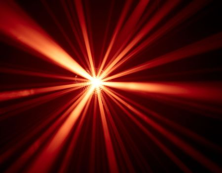 red disco lights background photo