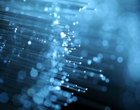 fiber cable: abstracte weergave van glas vezel
