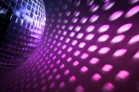 dancefloor: purple disco lights backdrop