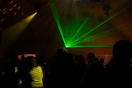 laser lights: laser lights in the night club