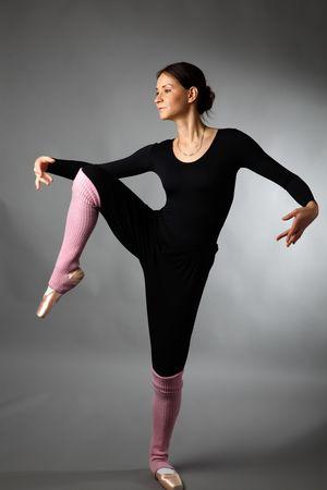 posing ballet dancer Stock Photo - 6068754