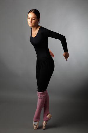 posing ballet dancer photo
