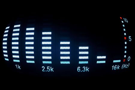 sound equalizer Stock Photo - 6347512