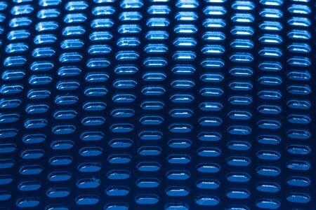 netlike: abstract blue grid background Stock Photo
