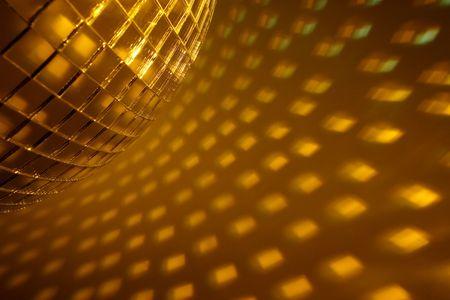 miror: Disco ball Stock Photo