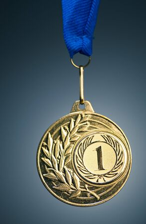 honor: gold medal Stock Photo