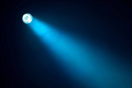 limelight: blue spotlight