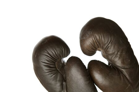 copysapce: boxing gloves with copy-sapce