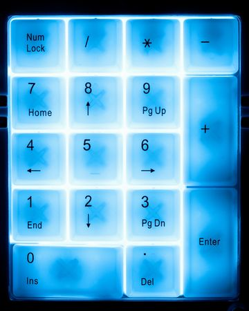 numeral pad keyboard Stock Photo - 6713675