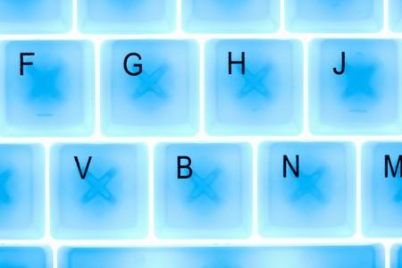 macro of computer keyboard Stock Photo - 6929768