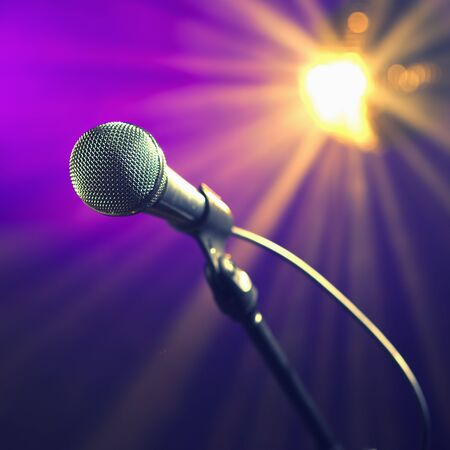 party microphone Stock Photo - 6929821
